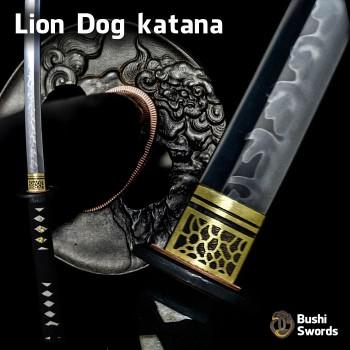 Lion Dog katana